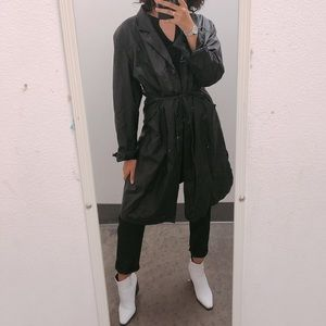 Awesome Black Trench Coat
